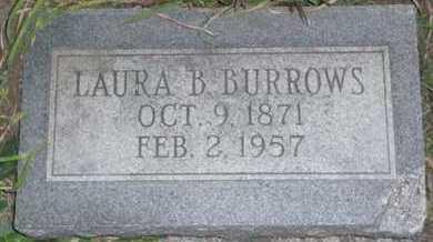 BURROWS, LAURA BELLE - Bourbon County, Kansas | LAURA BELLE BURROWS - Kansas Gravestone Photos