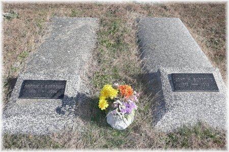 BURROWS, NANNIE LEOTA - Bourbon County, Kansas   NANNIE LEOTA BURROWS - Kansas Gravestone Photos