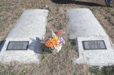 BURROWS, OSCAR MADESTIS - Bourbon County, Kansas | OSCAR MADESTIS BURROWS - Kansas Gravestone Photos