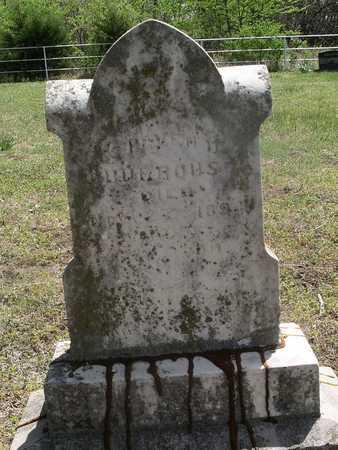 BURROWS, STEPHEN DOUGLAS - Bourbon County, Kansas | STEPHEN DOUGLAS BURROWS - Kansas Gravestone Photos