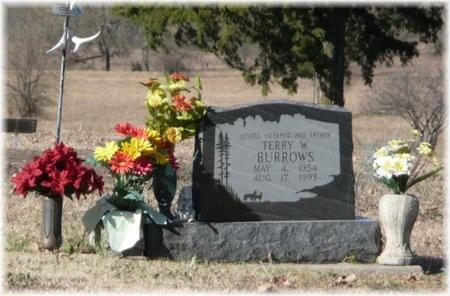 BURROWS, TERRY WAYNE - Bourbon County, Kansas | TERRY WAYNE BURROWS - Kansas Gravestone Photos
