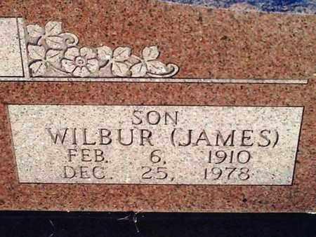 """BYBEE, WILBUR NEAL """"JAMES""""  (CLOSE UP) - Bourbon County, Kansas   WILBUR NEAL """"JAMES""""  (CLOSE UP) BYBEE - Kansas Gravestone Photos"""