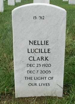 CLARK, NELLIE LUCILLE - Bourbon County, Kansas   NELLIE LUCILLE CLARK - Kansas Gravestone Photos