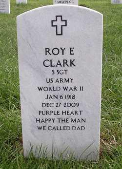 CLARK, ROY ERNEST  (VETERAN WWII) - Bourbon County, Kansas | ROY ERNEST  (VETERAN WWII) CLARK - Kansas Gravestone Photos