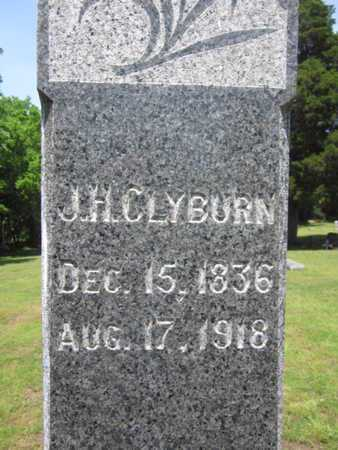CLYBURN, J H (CLOSE UP) - Bourbon County, Kansas | J H (CLOSE UP) CLYBURN - Kansas Gravestone Photos