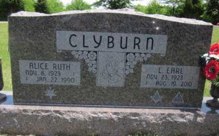 CLYBURN, ALICE RUTH - Bourbon County, Kansas | ALICE RUTH CLYBURN - Kansas Gravestone Photos