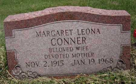 CONNER, MARGARET LEONA - Bourbon County, Kansas   MARGARET LEONA CONNER - Kansas Gravestone Photos