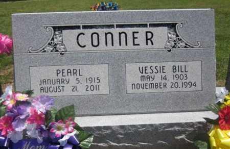 CRYSTAL CONNER, PEARL - Bourbon County, Kansas | PEARL CRYSTAL CONNER - Kansas Gravestone Photos