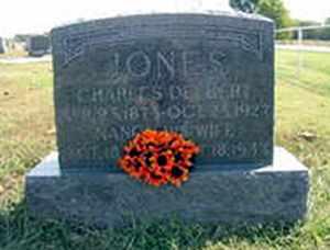 JONES, NANCY ANN - Bourbon County, Kansas | NANCY ANN JONES - Kansas Gravestone Photos