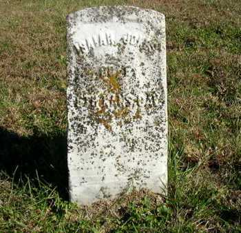 JONES, ISAIAH   (VETERAN UNION) - Bourbon County, Kansas | ISAIAH   (VETERAN UNION) JONES - Kansas Gravestone Photos