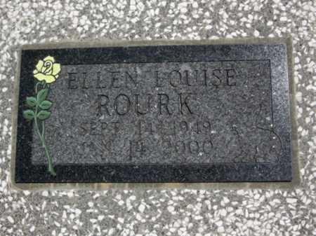 ROURK, ELLEN LOUISE (CLOSE UP) - Bourbon County, Kansas | ELLEN LOUISE (CLOSE UP) ROURK - Kansas Gravestone Photos