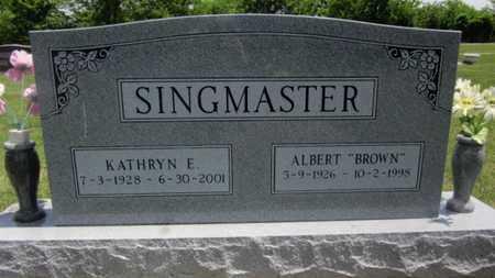 MOUDY SINGMASTER, KATHRYN E - Bourbon County, Kansas | KATHRYN E MOUDY SINGMASTER - Kansas Gravestone Photos