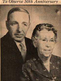 SINGMASTER, WILLIAM MANLEY AND ELLA FAYE (PHOTO) - Bourbon County, Kansas | WILLIAM MANLEY AND ELLA FAYE (PHOTO) SINGMASTER - Kansas Gravestone Photos