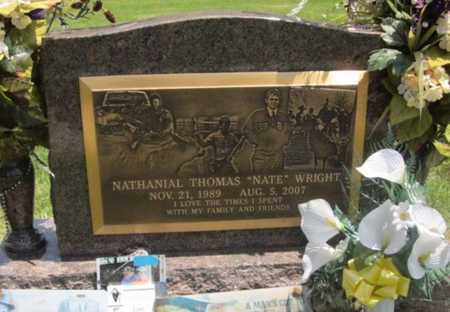 "WRIGHT, NATHANIAL THOMAS ""NATE"" - Bourbon County, Kansas 
