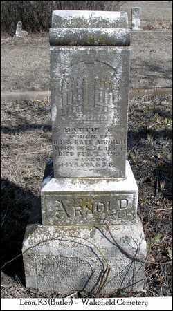 ARNOLD, HATTIE B - Butler County, Kansas | HATTIE B ARNOLD - Kansas Gravestone Photos