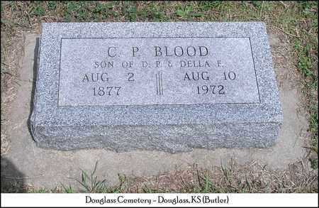 BLOOD, CLARENCE P - Butler County, Kansas   CLARENCE P BLOOD - Kansas Gravestone Photos