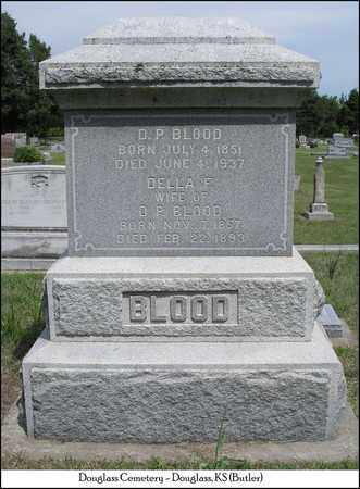 BLOOD, DELLA FLORENCE - Butler County, Kansas | DELLA FLORENCE BLOOD - Kansas Gravestone Photos