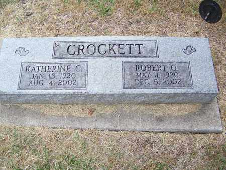 CROCKETT, KATHERINE C - Butler County, Kansas | KATHERINE C CROCKETT - Kansas Gravestone Photos