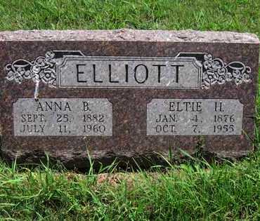 ELLIOTT, ELTIE HOWARD - Butler County, Kansas | ELTIE HOWARD ELLIOTT - Kansas Gravestone Photos