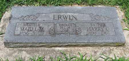 ERWIN, HARRY O - Butler County, Kansas | HARRY O ERWIN - Kansas Gravestone Photos