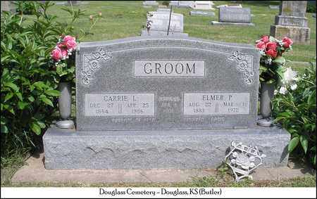 GROOM, CARRIE LELA - Butler County, Kansas | CARRIE LELA GROOM - Kansas Gravestone Photos