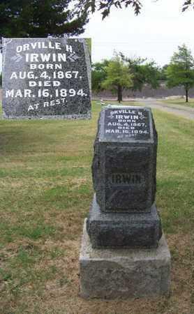 IRWIN, ORVILLE H - Butler County, Kansas | ORVILLE H IRWIN - Kansas Gravestone Photos