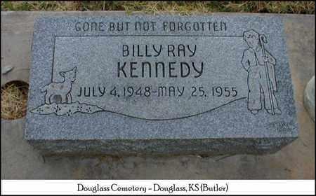 KENNEDY, BILLY RAY - Butler County, Kansas   BILLY RAY KENNEDY - Kansas Gravestone Photos
