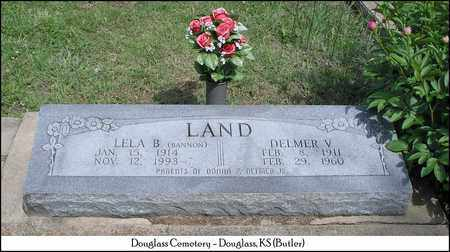 LAND, LELA B - Butler County, Kansas | LELA B LAND - Kansas Gravestone Photos