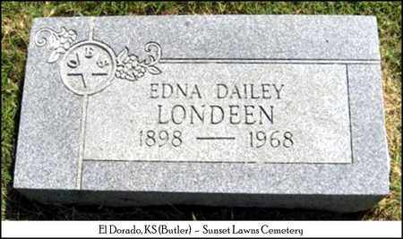 LONDEEN, EDNA - Butler County, Kansas | EDNA LONDEEN - Kansas Gravestone Photos