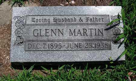 MARTIN, GLENN - Butler County, Kansas | GLENN MARTIN - Kansas Gravestone Photos