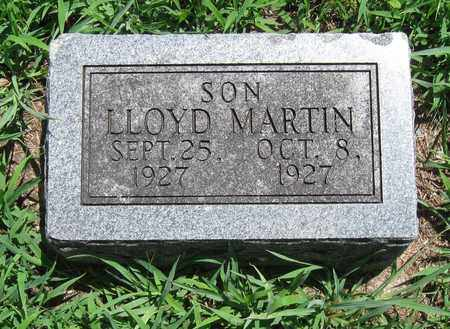 MARTIN, LLOYD - Butler County, Kansas   LLOYD MARTIN - Kansas Gravestone Photos
