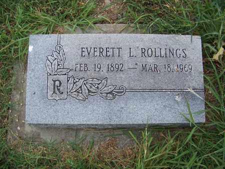 ROLLINGS, EVERETT LONZO - Butler County, Kansas   EVERETT LONZO ROLLINGS - Kansas Gravestone Photos