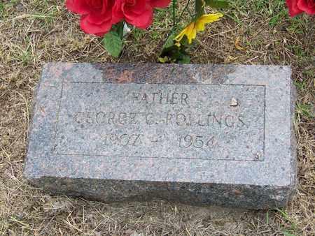 ROLLINGS, GEORGE COREY - Butler County, Kansas | GEORGE COREY ROLLINGS - Kansas Gravestone Photos