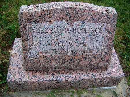 "ROLLINGS, GEORGE WILSON ""JUNIOR"" - Butler County, Kansas | GEORGE WILSON ""JUNIOR"" ROLLINGS - Kansas Gravestone Photos"