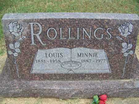 ROLLINGS, LOUIS - Butler County, Kansas   LOUIS ROLLINGS - Kansas Gravestone Photos