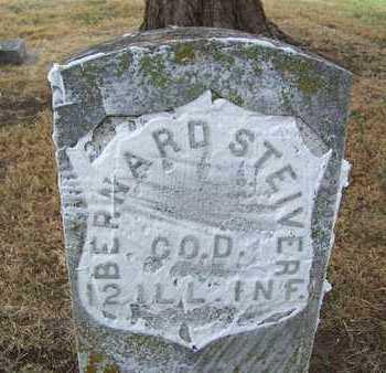 STEIVER, BERNARD   (VETERAN UNION) - Butler County, Kansas | BERNARD   (VETERAN UNION) STEIVER - Kansas Gravestone Photos
