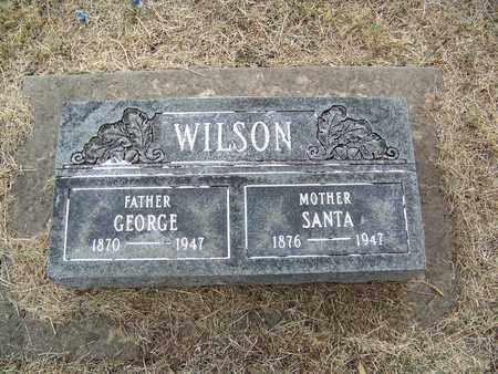 WILSON, GEORGE - Butler County, Kansas | GEORGE WILSON - Kansas Gravestone Photos