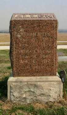 ALLEN, ALLEN - Chautauqua County, Kansas | ALLEN ALLEN - Kansas Gravestone Photos