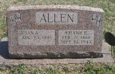 HENDERICKSON ALLEN, SUSAN ADELINE - Chautauqua County, Kansas   SUSAN ADELINE HENDERICKSON ALLEN - Kansas Gravestone Photos