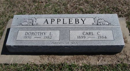APPLEBY, DOROTHY L - Chautauqua County, Kansas   DOROTHY L APPLEBY - Kansas Gravestone Photos