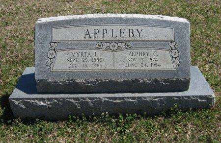 HAHN APPLEBY, MYRTA L - Chautauqua County, Kansas   MYRTA L HAHN APPLEBY - Kansas Gravestone Photos