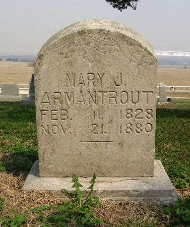 ARMANTROUT, MARY J - Chautauqua County, Kansas   MARY J ARMANTROUT - Kansas Gravestone Photos