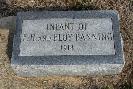 BANNING, INFANT - Chautauqua County, Kansas   INFANT BANNING - Kansas Gravestone Photos