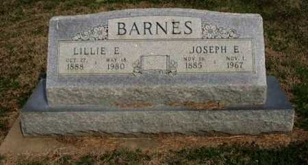 FESLER BARNES, LILLIE E - Chautauqua County, Kansas | LILLIE E FESLER BARNES - Kansas Gravestone Photos