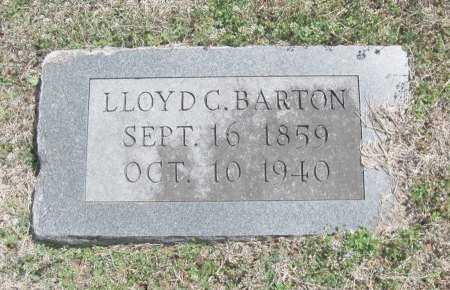 BARTON, LLOYD C - Chautauqua County, Kansas | LLOYD C BARTON - Kansas Gravestone Photos