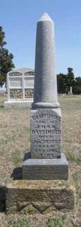 BAYSINGER, CLIFFORD L - Chautauqua County, Kansas | CLIFFORD L BAYSINGER - Kansas Gravestone Photos
