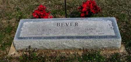 BOOMERSHINE BEVER, CLARA MAY - Chautauqua County, Kansas | CLARA MAY BOOMERSHINE BEVER - Kansas Gravestone Photos