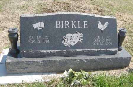 BIRKLE, JOE E, JR - Chautauqua County, Kansas | JOE E, JR BIRKLE - Kansas Gravestone Photos