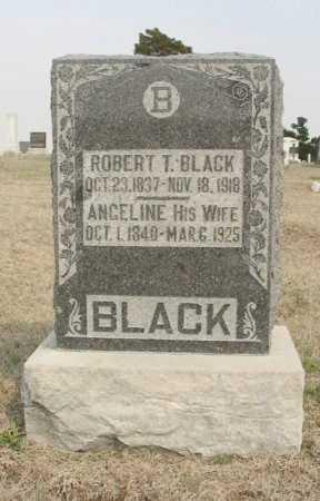 BLACK, ROBERT THOMAS - Chautauqua County, Kansas | ROBERT THOMAS BLACK - Kansas Gravestone Photos