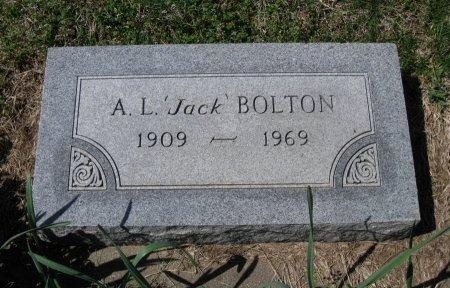 "BOLTON, A L ""JACK"" - Chautauqua County, Kansas   A L ""JACK"" BOLTON - Kansas Gravestone Photos"